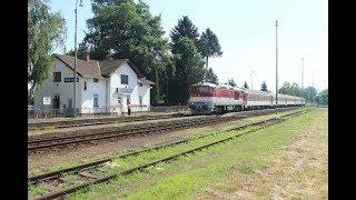 ESK081856 Slovakia fast train locomotive ŽSSK 757 020 rýchlik vlak 722 Vtáčnik قطارات سريعة سلوفاكي