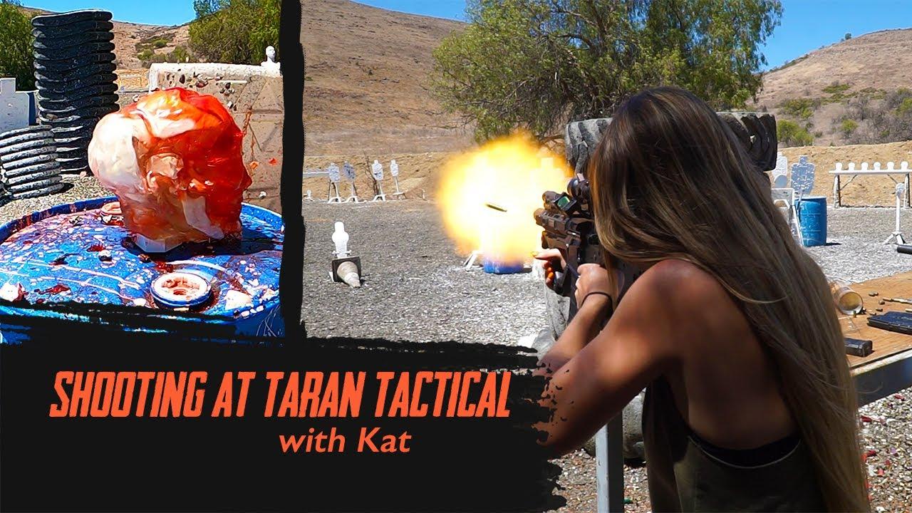 Shooting At The Taran Tactical Range   With Kat