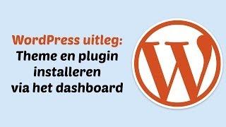 WordPress theme en plugins installeren