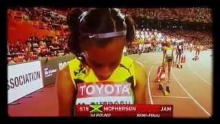 Women 400 meters Final IAAF Beijing 2015