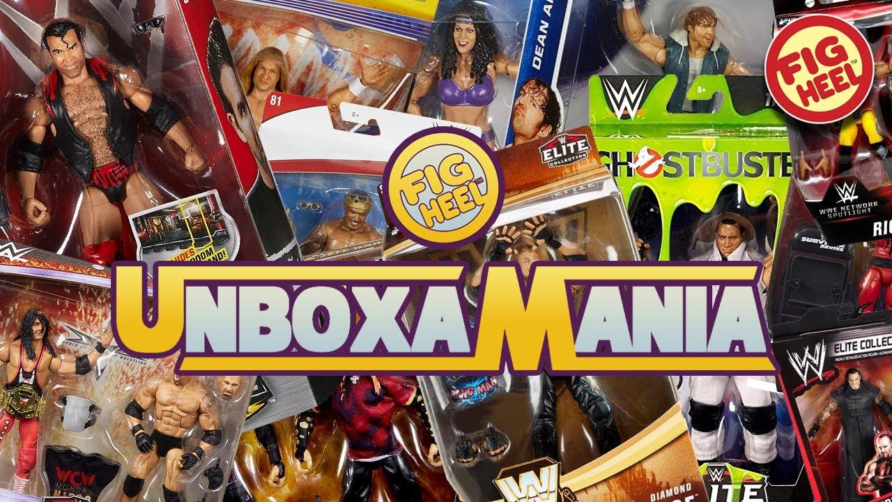 UNBOXAMANIA 5! Blindly Unboxing Random WWE Mattel Elite Action Figures!