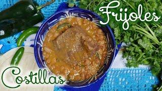 Costillas de Res con Frijoles - Receta - Mi Cocina Rápida