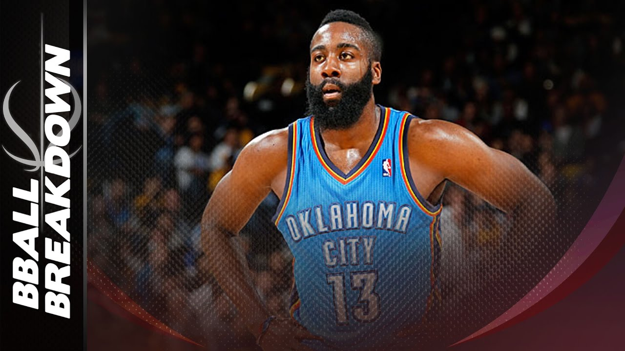 2adcaa69 When James Harden Was A Point Guard (in OKC) - YouTube