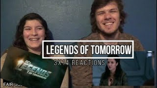 "Legends of Tomorrow 3x14 ""Amazing Grace"" Reactions"