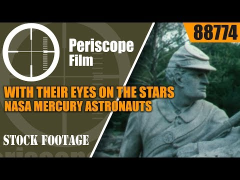 WITH THEIR EYES ON THE STARS  NASA MERCURY...
