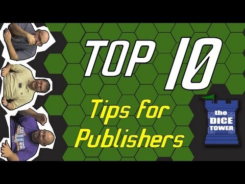 Top 10 Tips for Game Publishers