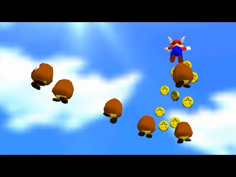 SM64 - Mario Wings to the Sky - 0x A Presses