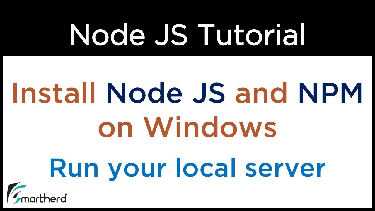 How to install Node JS in Windows  Run local web server in Node  Create  first application on Node
