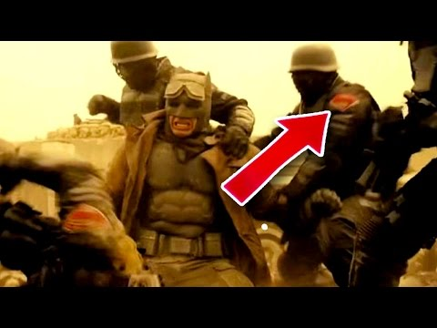 Batman Vs Superman EASTER EGGS Dawn of Justice Trailer & Predictions