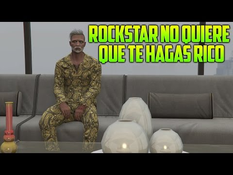 ROCKSTAR NO QUIERE QUE TE HAGAS RICO!