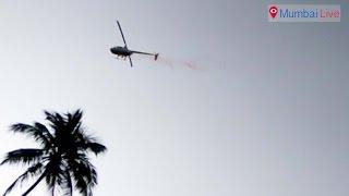 Chopper Flower Shower at Chaitya Bhoomi | Mumbai Live
