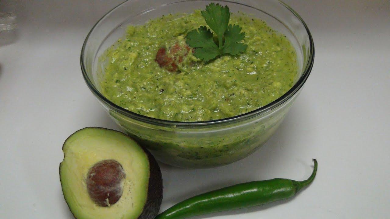 Receta de guacamole como preparar salsa con aguacate - Como preparar las judias verdes ...