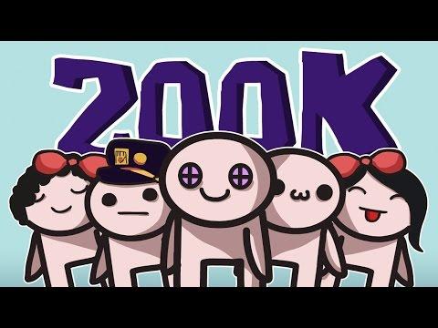 200K ПОДПИСЧИКОВ! (Анимация)