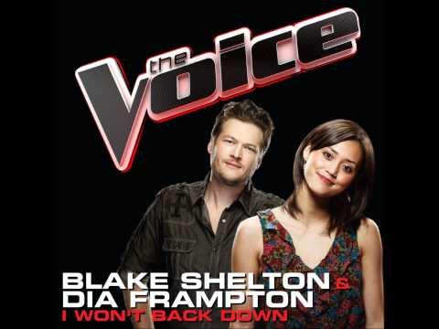 Black Shelton & Dia Frampton - I Won't Back Down (The Voice Preformance) [Studio Version]