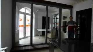 видео Стеклянные системы - Купить стеклянные раздвижные системы в Москве