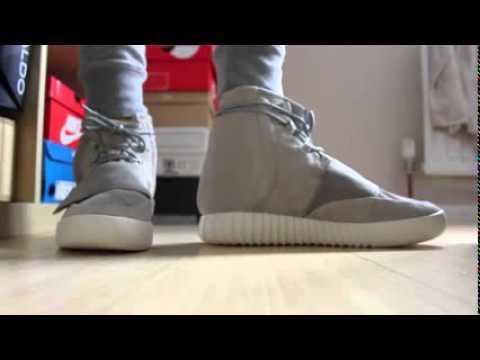 Adidas Yeezy 750 Boost On Feet