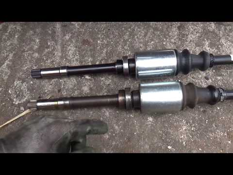 DIY driveshaft replacement Peugeot 106 Rallye