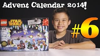 2014 LEGO STAR WARS Advent Calendar DAY 6 - Set 75056 + Question of the Day!