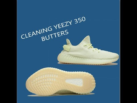 HOW TO CLEAN YEEZY 350 BUTTER: With Reshoeven8er