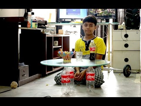 How to make creative Table with Glass & Bottles