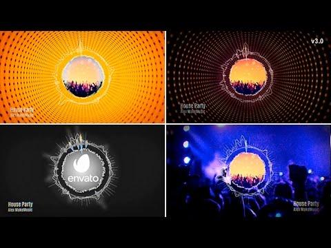 After Effect Circle Spectrum Music Visualizer v3.0