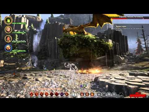 Dragon age inquisition dragon boss fereldan frostback lv12