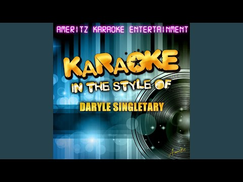 I Let Her Lie (In the Style of Daryle Singletary) (Karaoke Version)