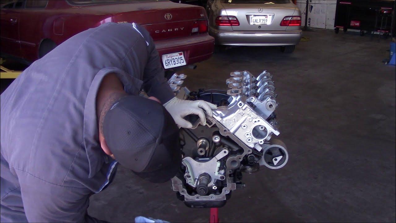 How to set the Valve timing on a 4 7 Dodge  (Engine Rebuild pt  7)