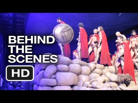 300 Behind The Scenes - Stop Motion Set Pics (2006) - Gerard Butler Movie HD