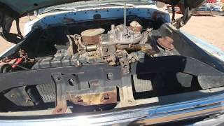 Roadkill Inspired Junkyard Rescue (part 2) of a 73 ford truck revival after sitting 20+ years