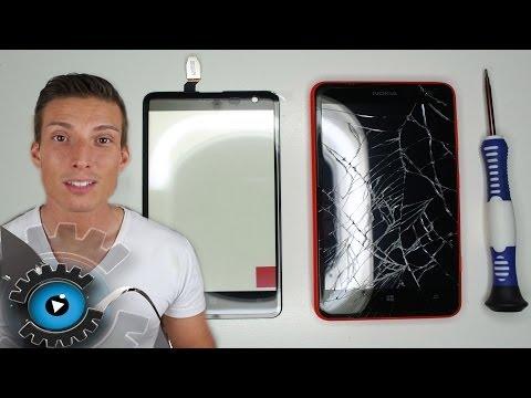 Nokia Lumia 625 Glas Digitizer Wechseln Tauschen unter 20€ Reparieren [Deutsch]