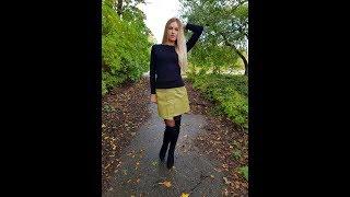 Сексуальная юбка из pu кожи  с AliExpress   #Jelena_shoping  #LYZCR     Видео обзор