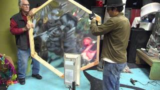 Making a Hexagonal Mylar Mirror