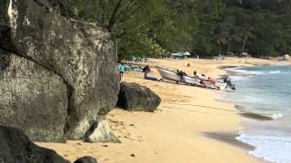 Sosua Boats Being Beached