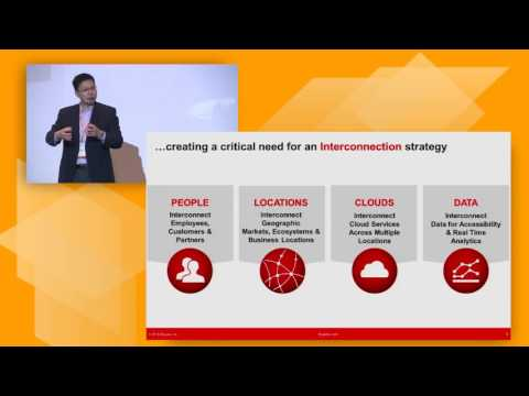 AWS Summit Series 2016 | Singapore: Exploring Interconnection Oriented Architectures with AWS