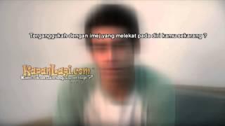Zidni Adam Sulit Hilangkan Imej Pemain Film Horor