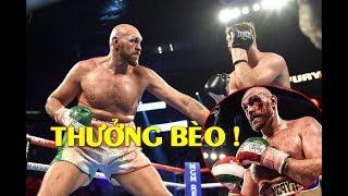 Tyson Fury Nhận Khoản Thưởng BẤT NGỜ Sau Khi Bị Otto Wallin Đấm RÁCH MẮT