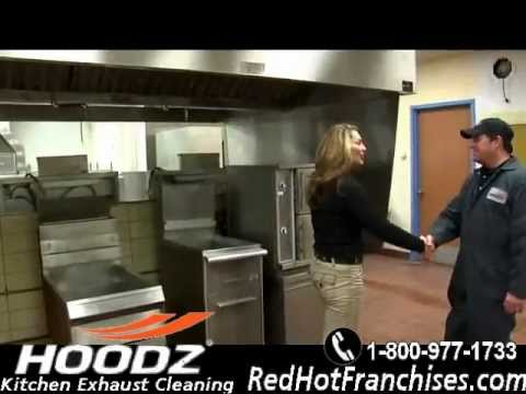 HOODZ Kitchen Exhaust Cleaning Franchise   Hood Cleaning Industrial And  Commercial Kitchen Cleaning