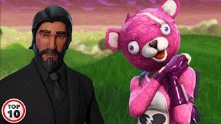 top 10 types of players you meet in fortnite