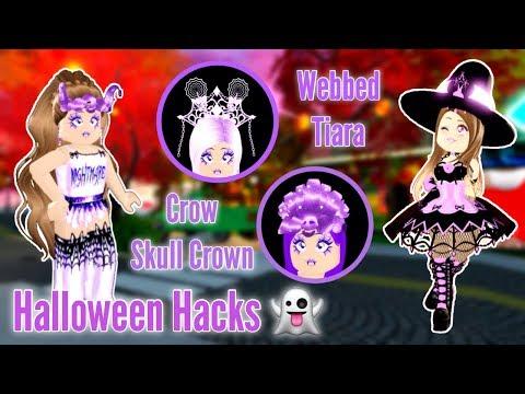 Testing SPOOKY HALLOWEEN HACKS w/ It's Siena! Royale High Outfit Hacks