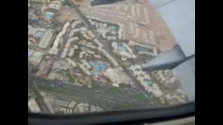 Tussenlanding in Sharm El Sheikh International Airport, Ras Nasrani, Egypte