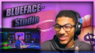 "Blueface ""Studio"" (Official Music Video) THIS THE RAP NEW WAVE! TheFirstEric Reaction"