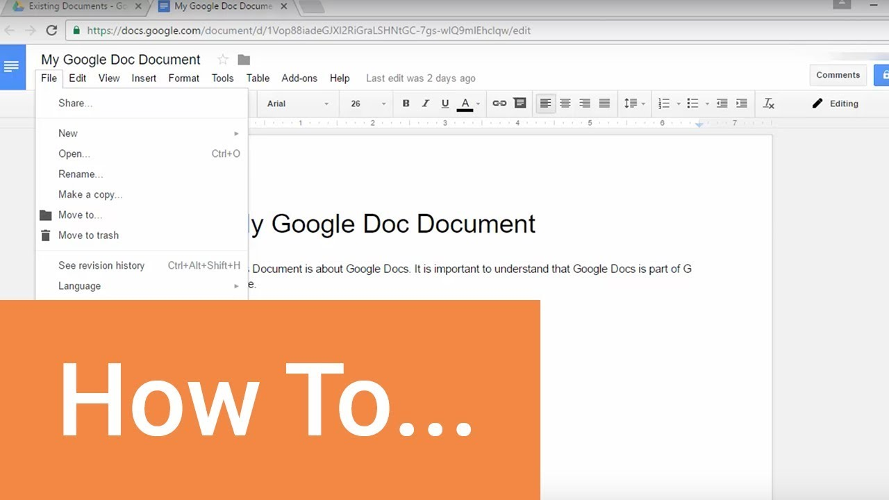 How to Import and Export Documents in Google Drive