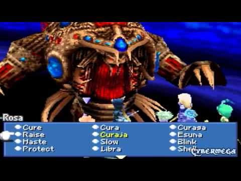 Final fantasy 4 DS part 67 Final Boss: Zeromus