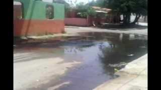 Colapso de aguas servidas en el municipio Los Guayos