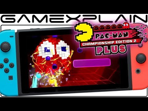 10 Minutes Of Pac-Man CE2 Plus's NEW 2-Player Mode On Nintendo Switch (+Very Hard!)