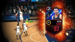 93 playoff kevin love gameplay nba live mobile