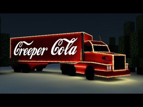 Creeper Cola - Minecraft Christmas Commercial Parody