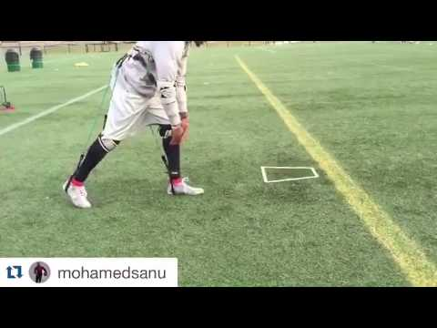 NFL Advanced Speed Training with Antonio Brown, Torrey Smith, Mohamed Sanu - MASS Suit