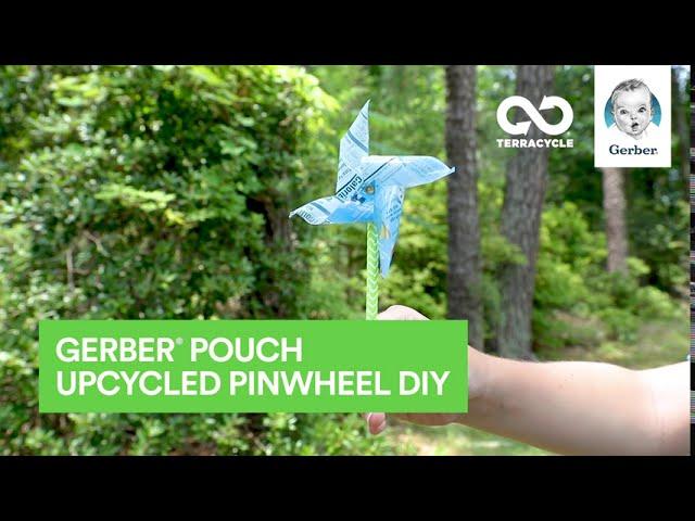 Gerber® Pouch Upcycled Pinwheel | TerraCycle® DIY